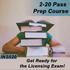 Florida: Cram Course - 2-20 General Lines Agent Pass Prep Course (INS020FL)